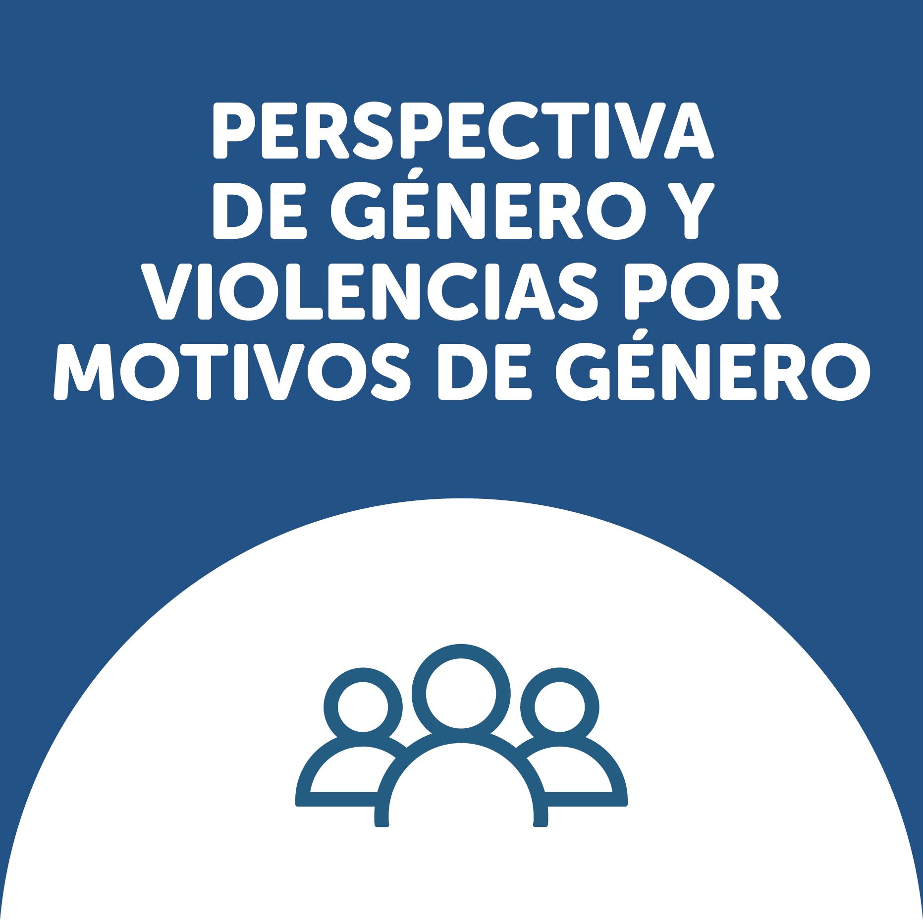 Perspectiva de género y violencias por motivo de género